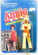 The World of Annie - Miniature pvc figure - Punjab - Knickerbocker