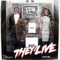 They Live (Invasion Los Angeles) - NECA - Alien 2-pack - Figurines Retro 20cm
