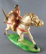 Thibaud ou les croisades - Figurine Jim - Blanchot cavalier cheval blanc