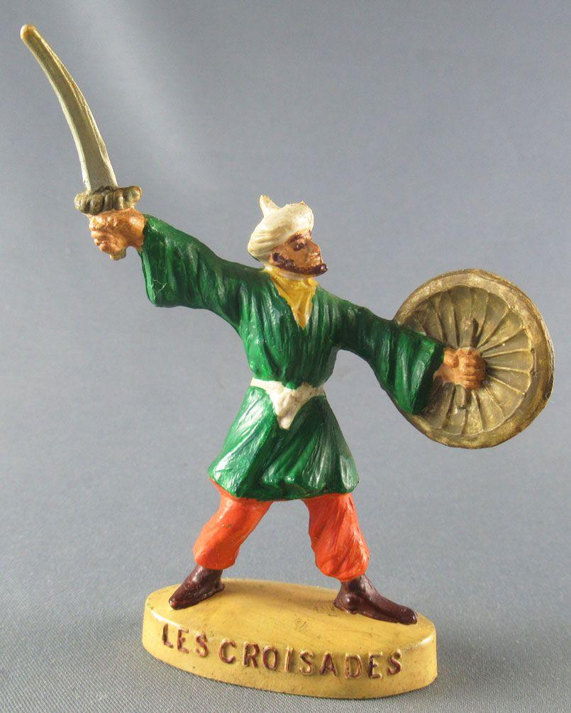 Thibaud ou les croisades - Jim figure - Muslim footed (green & orange)