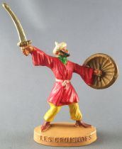 Thibaud ou les croisades - Jim figure - Muslim footed (red & yellow)