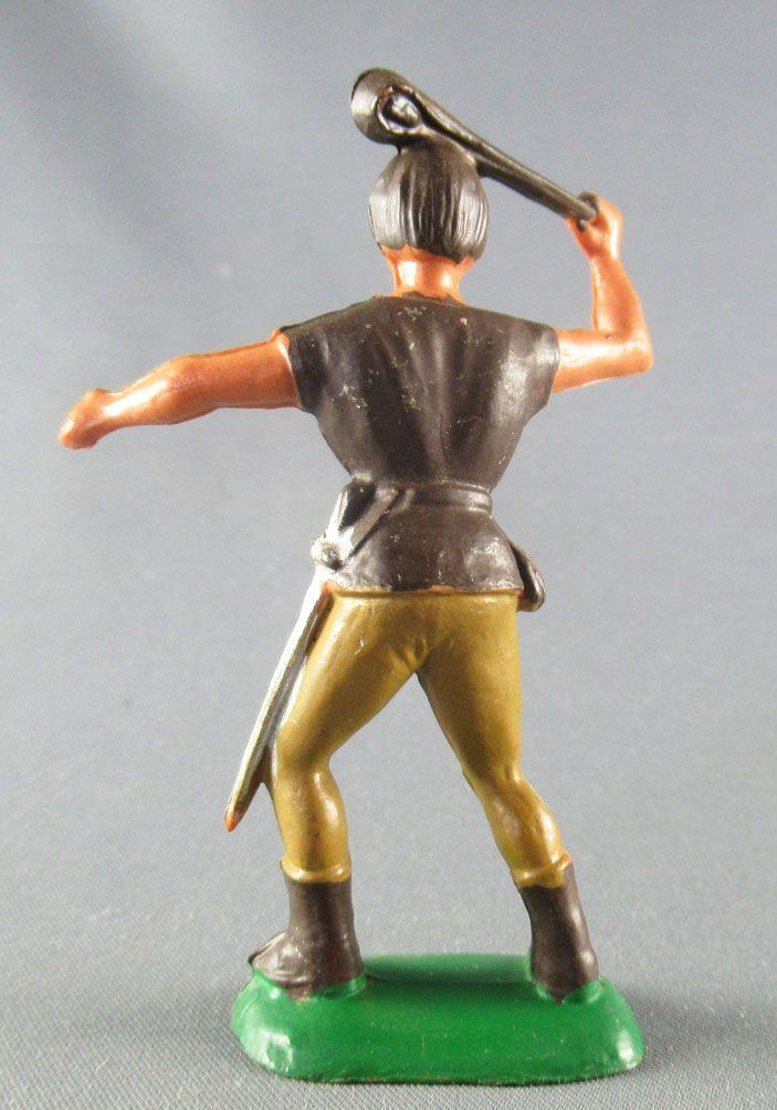 Thierry la Fronde - Clairet plastic figure - Thierry Brown Shirt