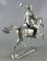 Thierry la Fronde - Figurine MC Caiffa - Bertrand le tonnelier à cheval