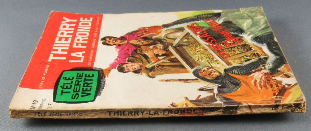 Thierry la Fronde - Livre Bd Télé Série Verte N°19 - Les Messagers du Connétable