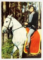 Thierry la Fronde - ORTF / Editions Yvon Post Card - #04 When the outlaw becomes Lord of Janville again ...