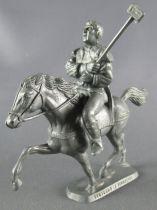 Thierry la Fronde - Premium Plastic figure - Bertrand the barrel-maker on horse