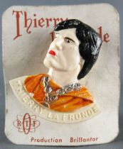 Thierry la Fronde - Thierry Plastic Brillantor Pin - Thierry Mint on Card