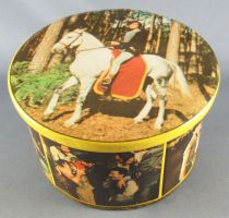 Thierry la Fronde - Vintage Brochet Tin Candy Box - Thierry Riding