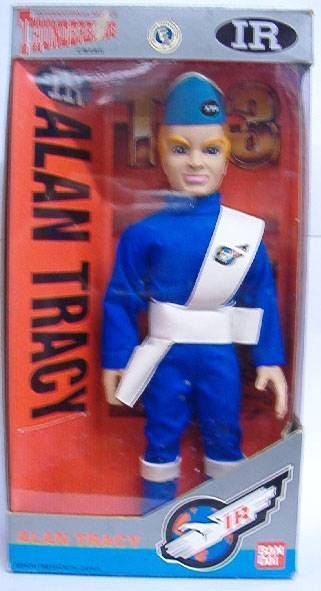 Thunderbirds - Bandai - Alan Tracy 10 inches