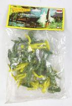 Thunderbirds - Comansi - Sachet de 12 figurines (vert & anis)