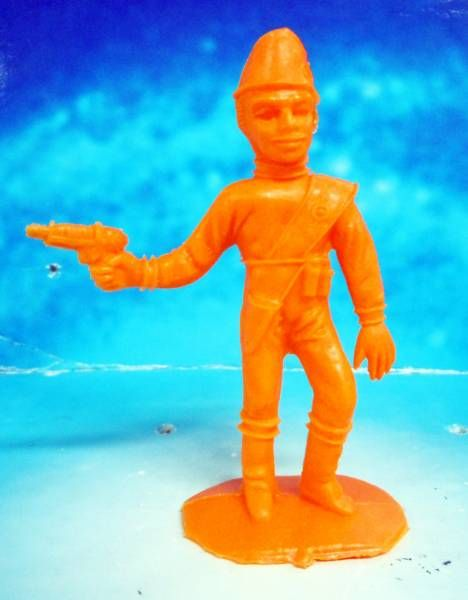 Thunderbirds - Comansi - Virgil Tracy (orange)