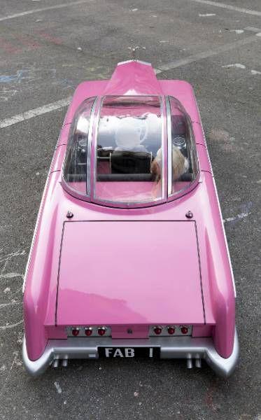 Thunderbirds - FAB1 Rolls Royce de Lady Penelope - Réplique Echelle 1/4