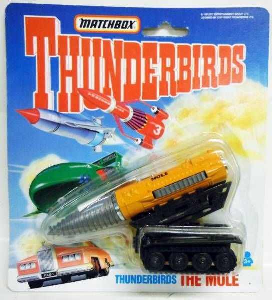 Thunderbirds - Matchbox - Mole (Mint on card)
