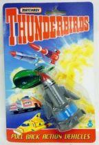 Thunderbirds - Matchbox - TB1 Véhicule à friction (neuf sous blister)