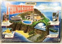 Thunderbirds - Matchbox - Tracy Island playset (loose with box)