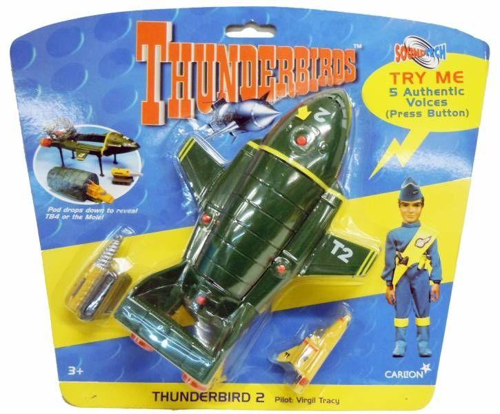 Thunderbirds - Vivid - TB2 Soundtech avec TB4 & Mole (neuf sous blister)