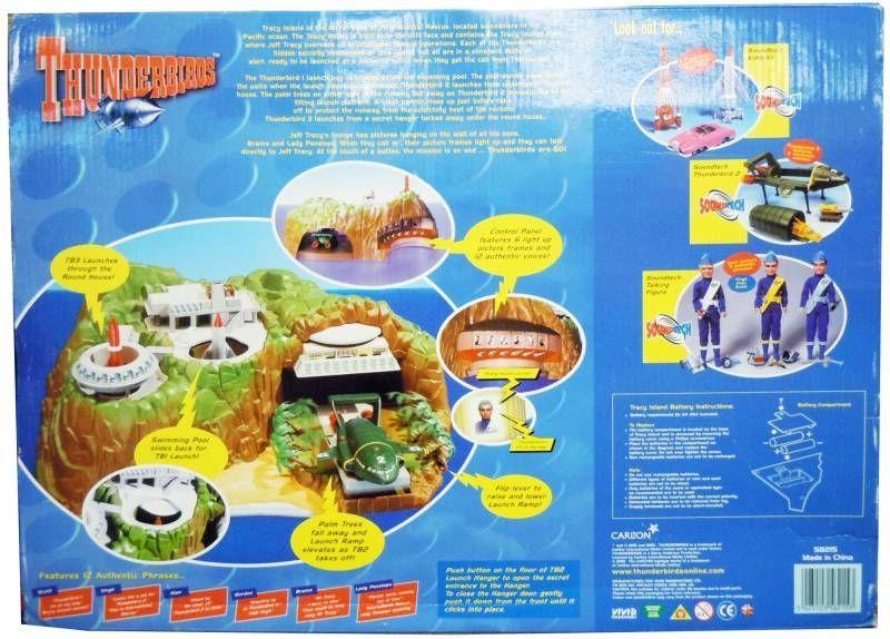 Thunderbirds - Vivid - Tracy Island Electronic Playset (occasion en boite)