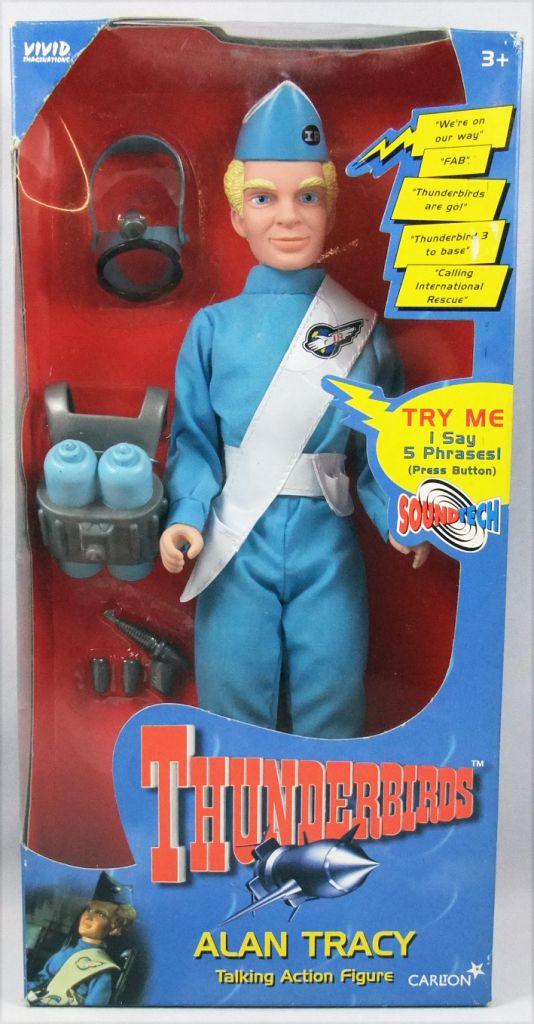 "Thunderbirds - Vivid Carlton - Alan Tracy 12\"" talking action figure"