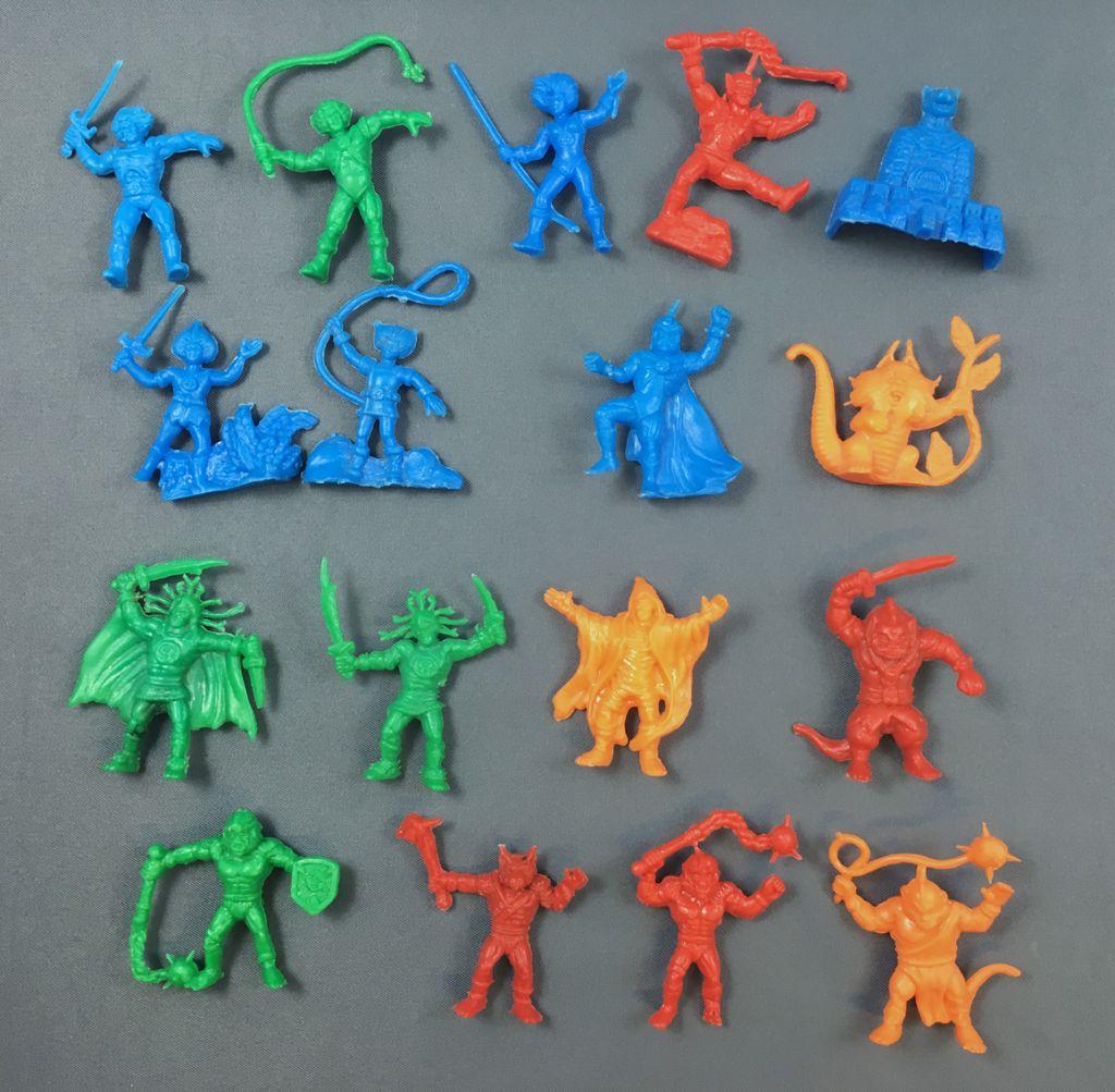 Thundercats - Dunkin Bubble Gum - Set of 17 monochrome figures