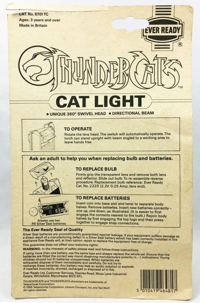 Thundercats - Ever Ready - Cat Light