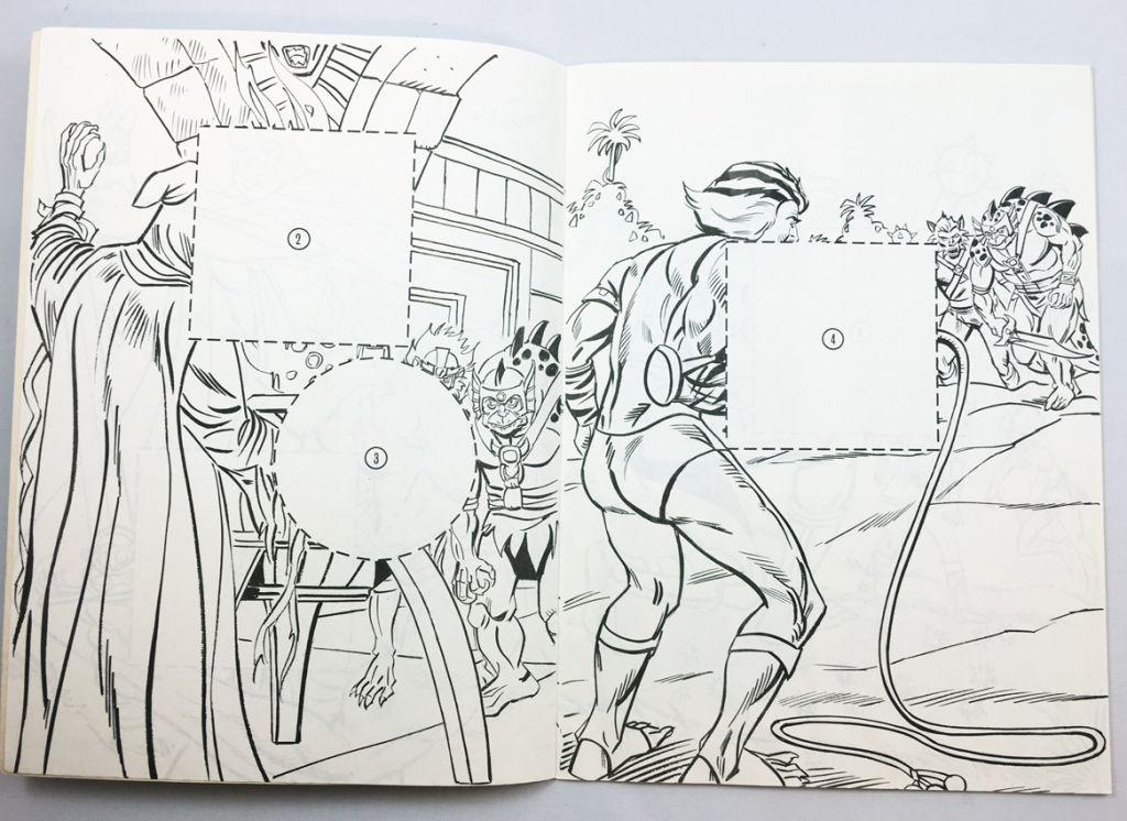 Thundercats - Grandreams - Sticker Fun Book #2