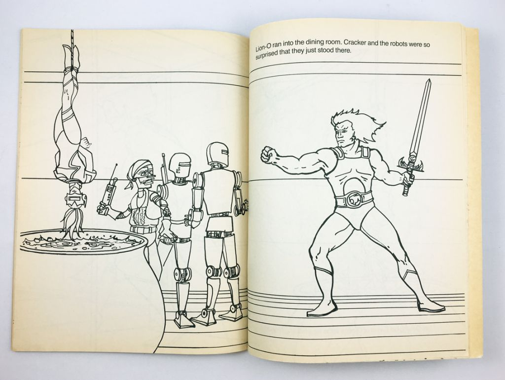 "Thundercats - Happy House Coloring Book ""Mandora and the Pirates\"""