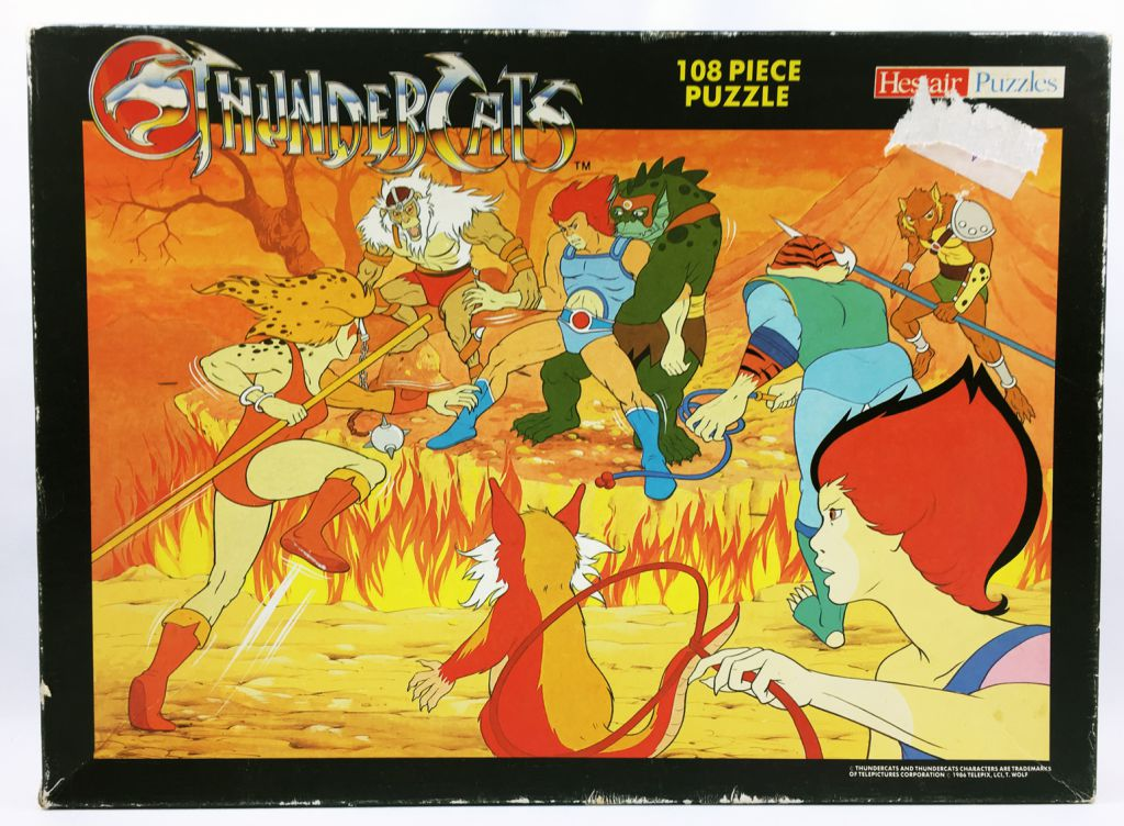Thundercats - Hestair Puzzles 108 pieces - Mutants attacks!