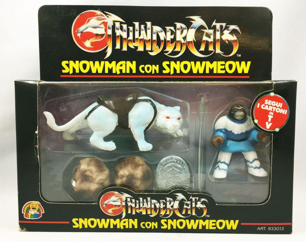 Thundercats - Kidworks (Litardi) Miniatures - Snowman with Snowmeow (mint in box)
