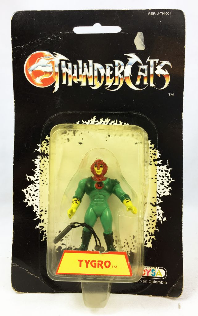 Thundercats - Kidworks (Toysa) Miniatures - Tygro (mint on card)