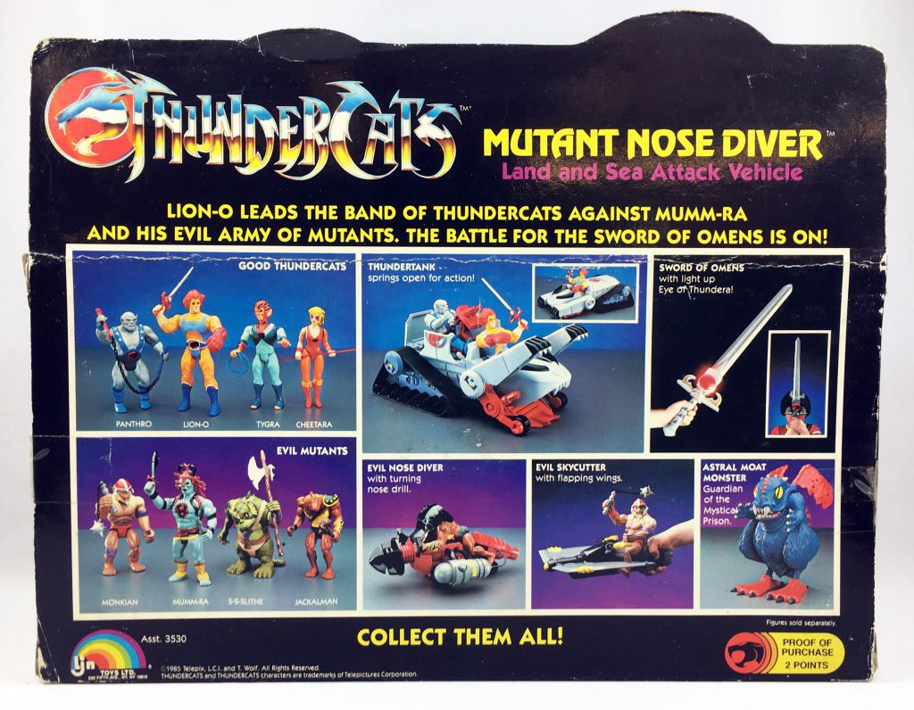 Thundercats - LJN - Mutant Nose Diver (mint in box)