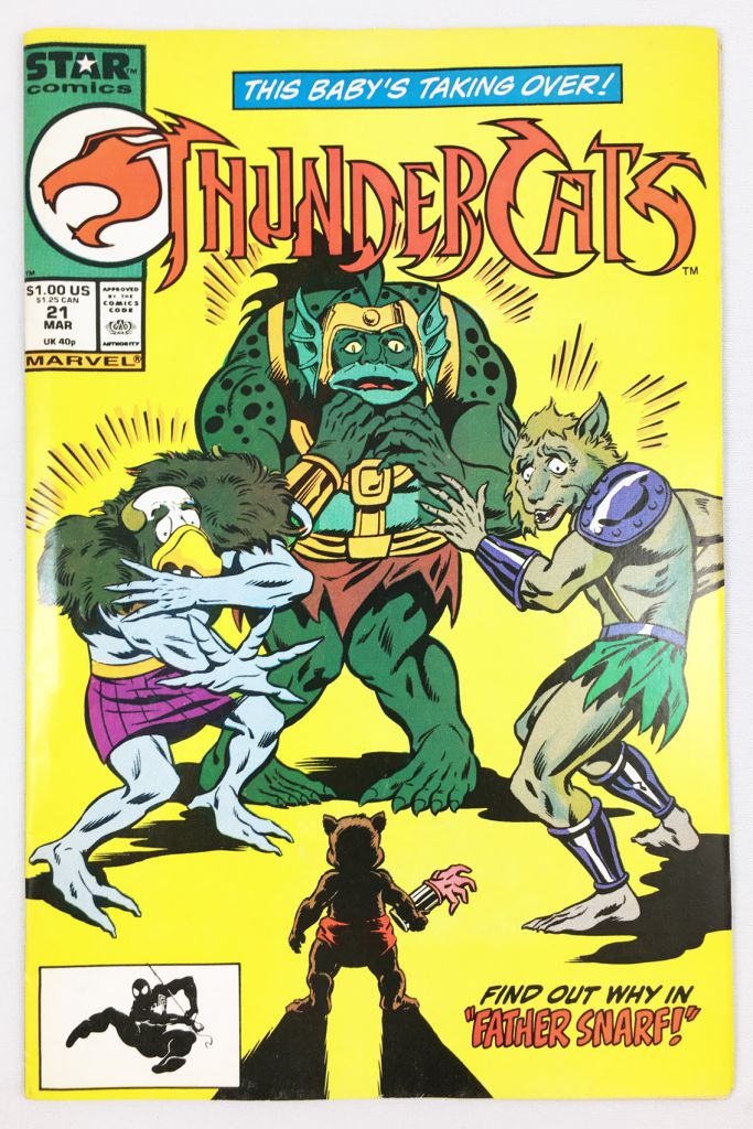 Thundercats - Marvel Star Comics Vol. 1 n°21 (March 1988)