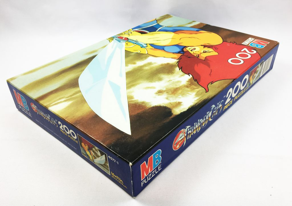Thundercats - Puzzle MB 200 pieces - Lion-O (ref.4577-1)