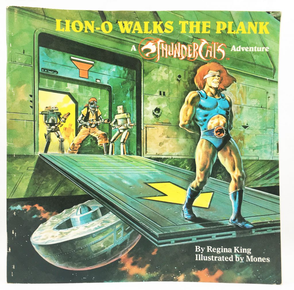 Thundercats - Random House 1986 - Lion-O walks the Plank (Story Book)