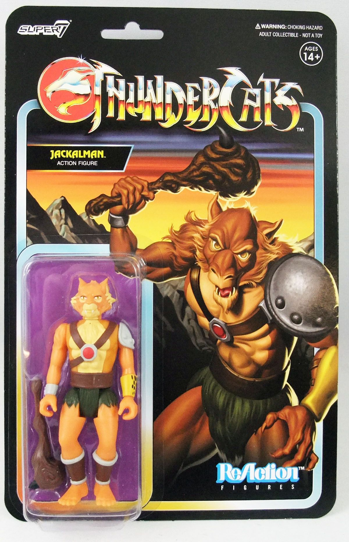 Thundercats - Super7 ReAction Figures - Jackalman
