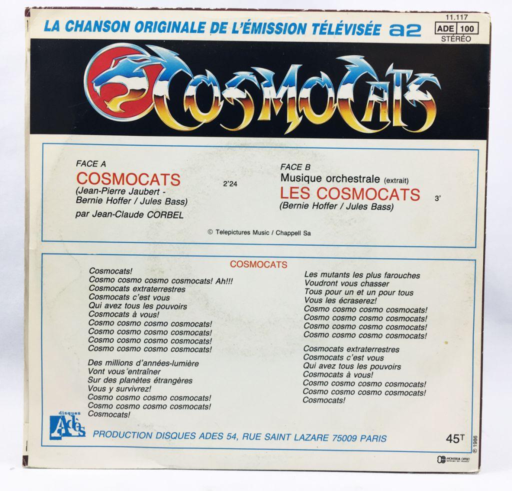 Thundercats - TV Series Soundtrack -  Ades Records 1986