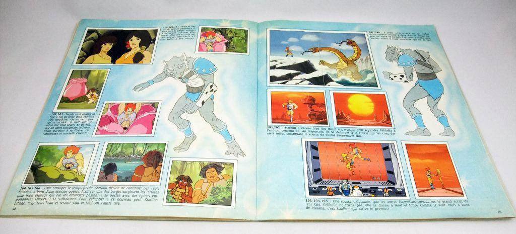 Thundercats (Cosmocats) - Album Collecteur de Vignettes Panini (complet avec poster)