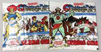 Thundercats (Cosmocats) - Barrat Bubble Gum - Lot 4 pochette (vides)