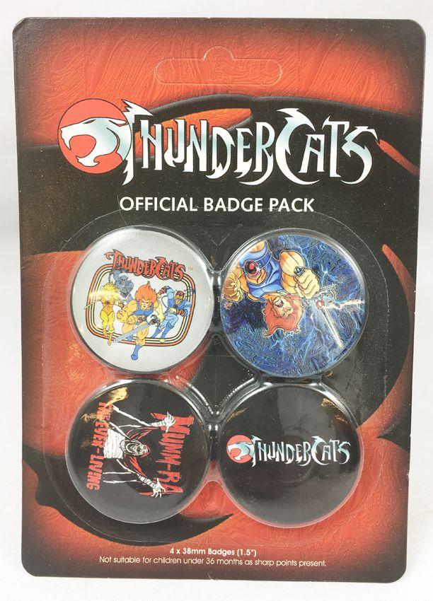 Thundercats (Cosmocats) - GB Eye - Thundercats Official Bagde Pack