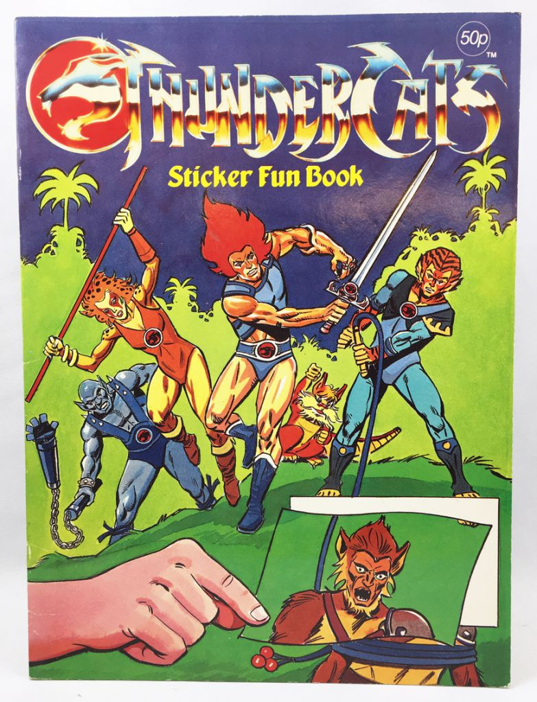 Thundercats (Cosmocats) - Grandreams - Sticker Fun Book #2
