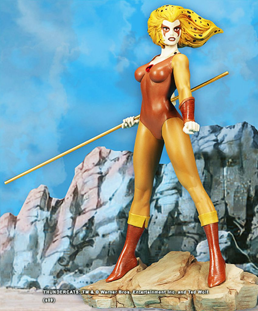Thundercats (Cosmocats) - Hard Hero Cold Cast Porcelain Statue - Cheetara / Félibelle