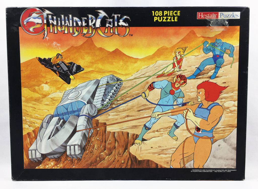 Thundercats (Cosmocats) - Hestair Puzzles 108 pièces - Cosmocats & Tank-Attack