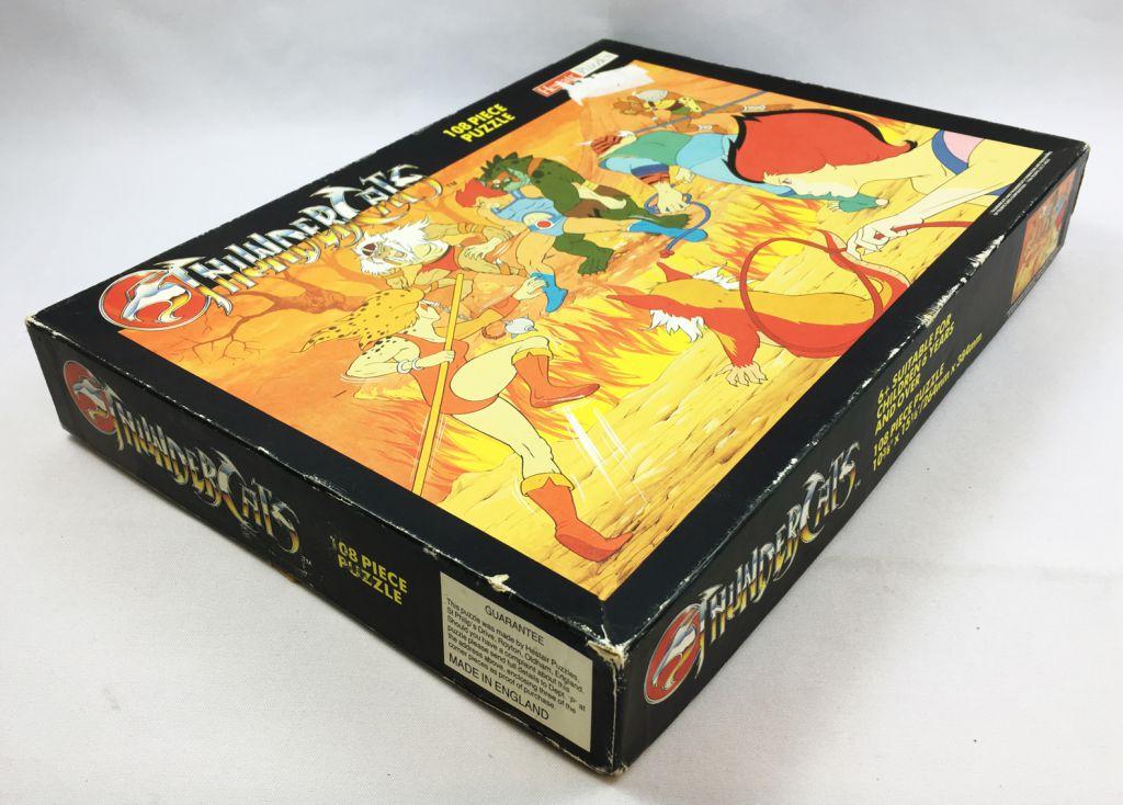 Thundercats (Cosmocats) - Hestair Puzzles 108 pièces - L\'Attaque des Mutants