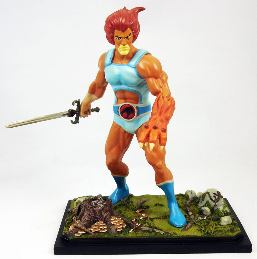 Thundercats (Cosmocats) - Icon Heroes Mini-Statue - Lion-O / Starlion