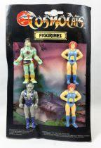 Thundercats (Cosmocats) - Kidworks - Eraser Figure - Mumm-ra, Panthro, Lion-O x2 (factory error)
