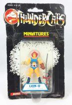 Thundercats (Cosmocats) - Kidworks (Acamas Toys) Miniatures - Lion-O / Starlion (neuve sous blister)
