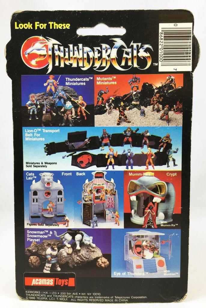 Thundercats (Cosmocats) - Kidworks (Acamas Toys) Miniatures - Tuska (neuve sous blister)