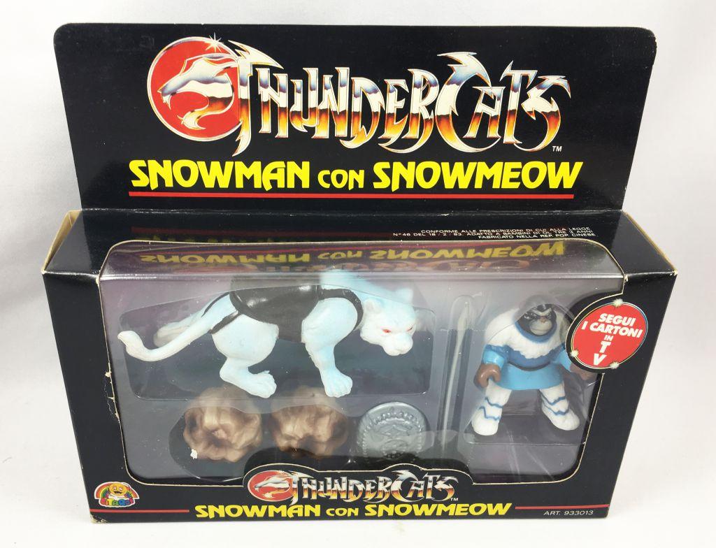 Thundercats (Cosmocats) - Kidworks (Litardi) Miniatures - Snowman with Snowmeow (neuf en boite)