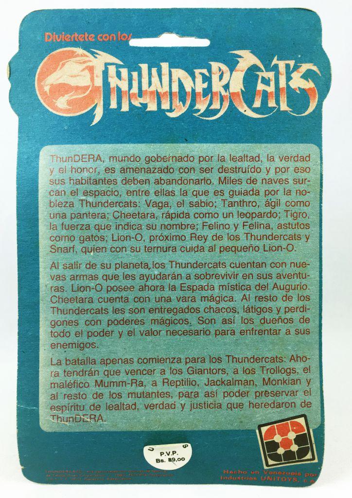 Thundercats (Cosmocats) - Kidworks (Unitoys) Miniatures - Lion-O / Starlion (neuve sous blister)