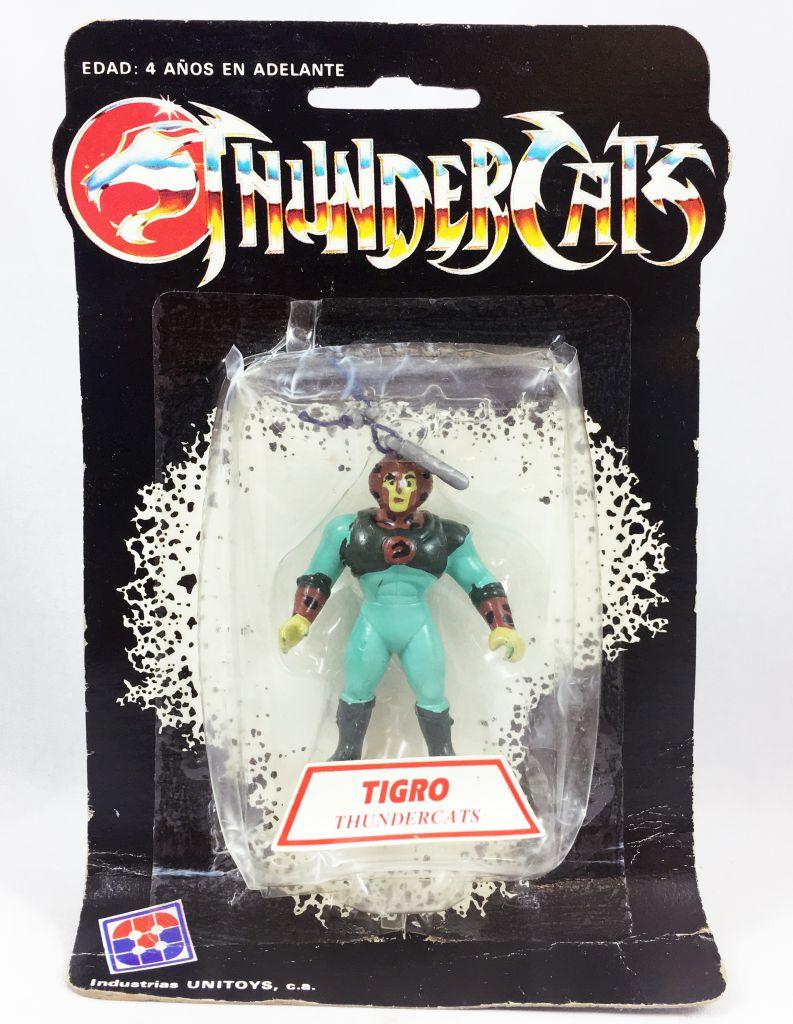 Thundercats (Cosmocats) - Kidworks (Unitoys) Miniatures - Tygra / Tigro (neuve sous blister)