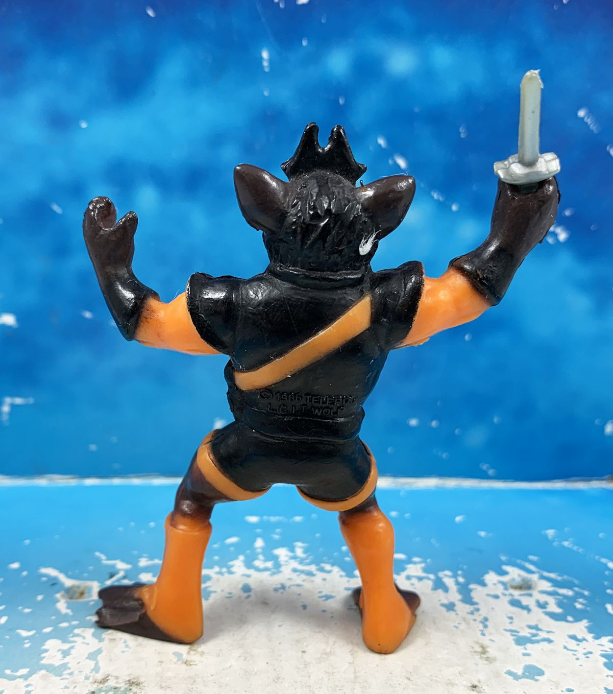 Thundercats (Cosmocats) - Kidworks Miniatures - Rataro (occasion complète)